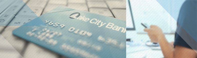 Lake City Bank debit card